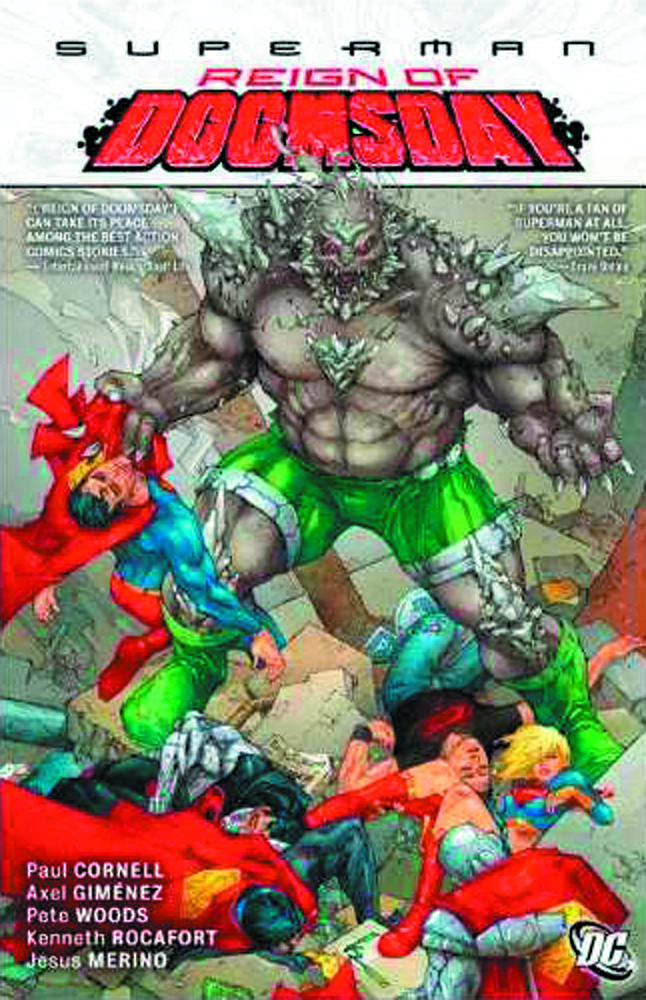 SUPERMAN REIGN OF DOOMSDAY HC