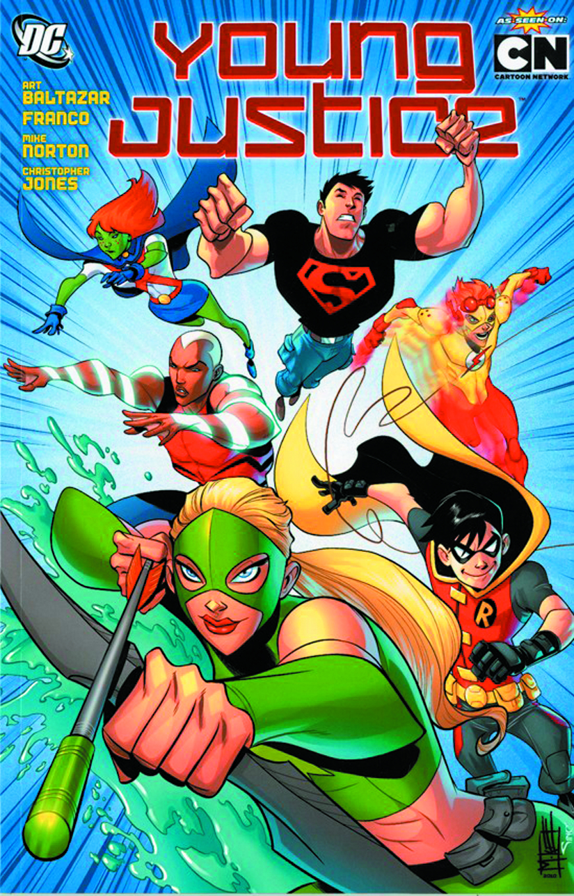 (USE OCT138326) YOUNG JUSTICE TP VOL 01