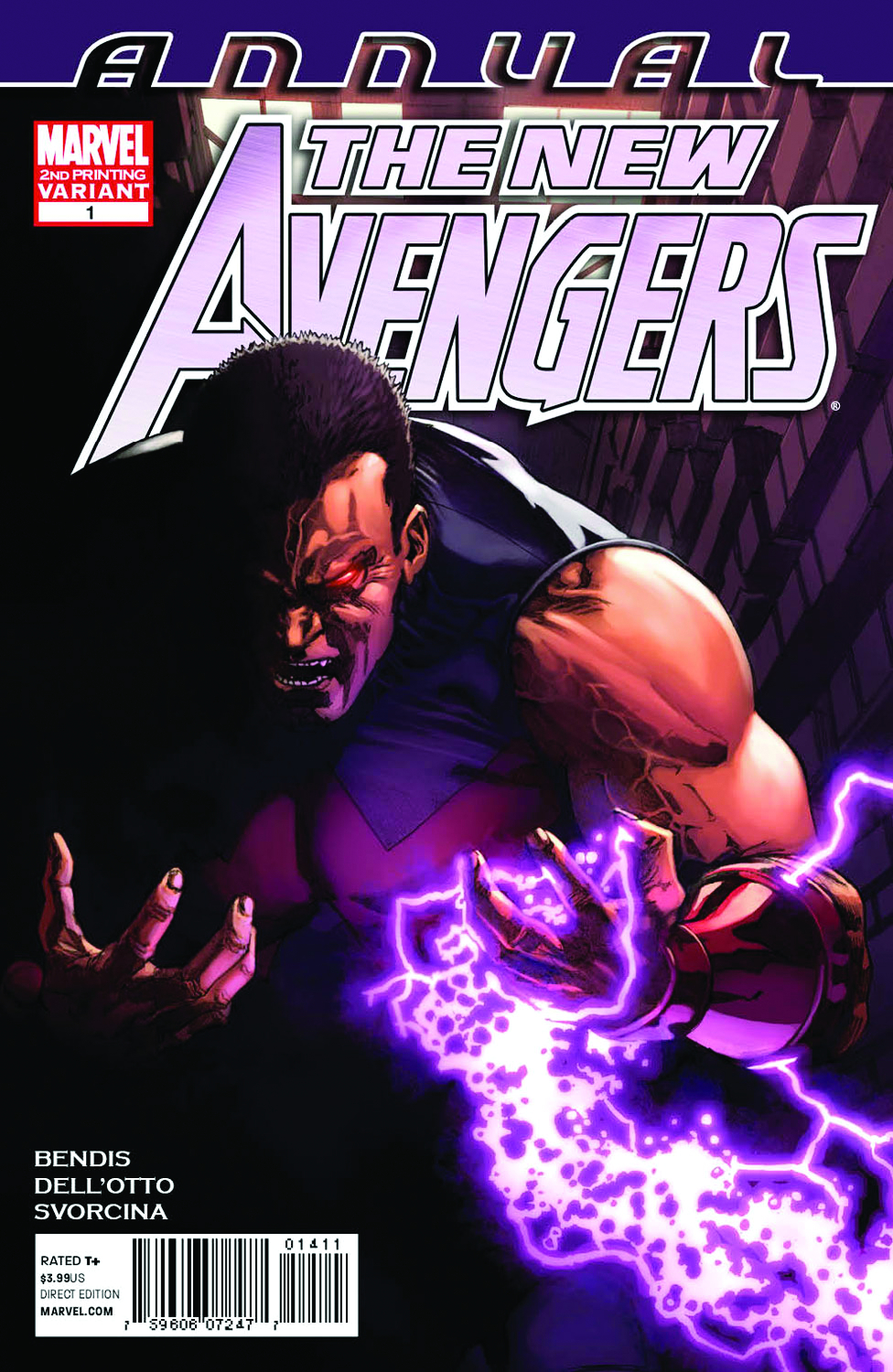 NEW AVENGERS ANNUAL #1 2ND PTG DELLOTTO VAR