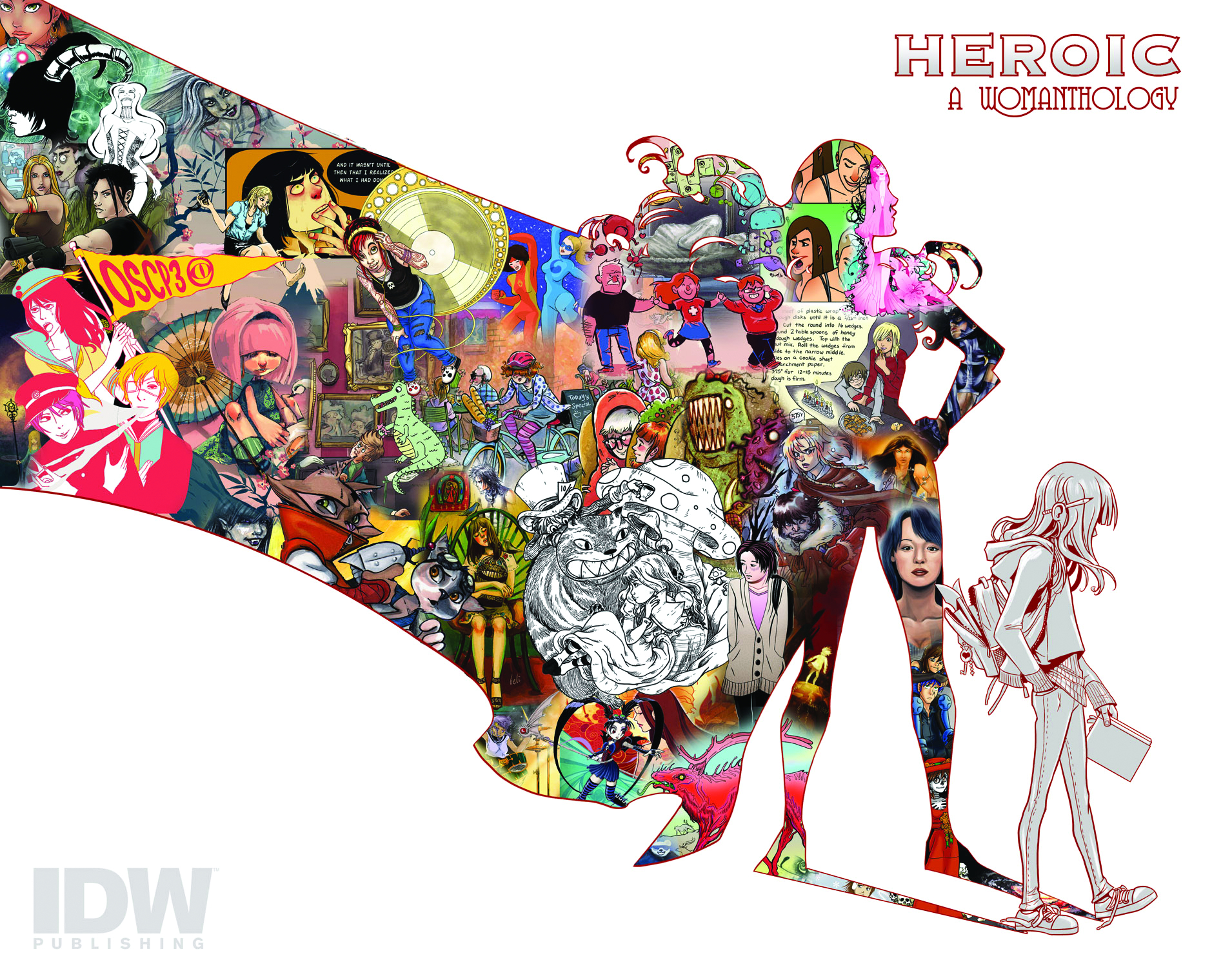 WOMANTHOLOGY HEROIC HC