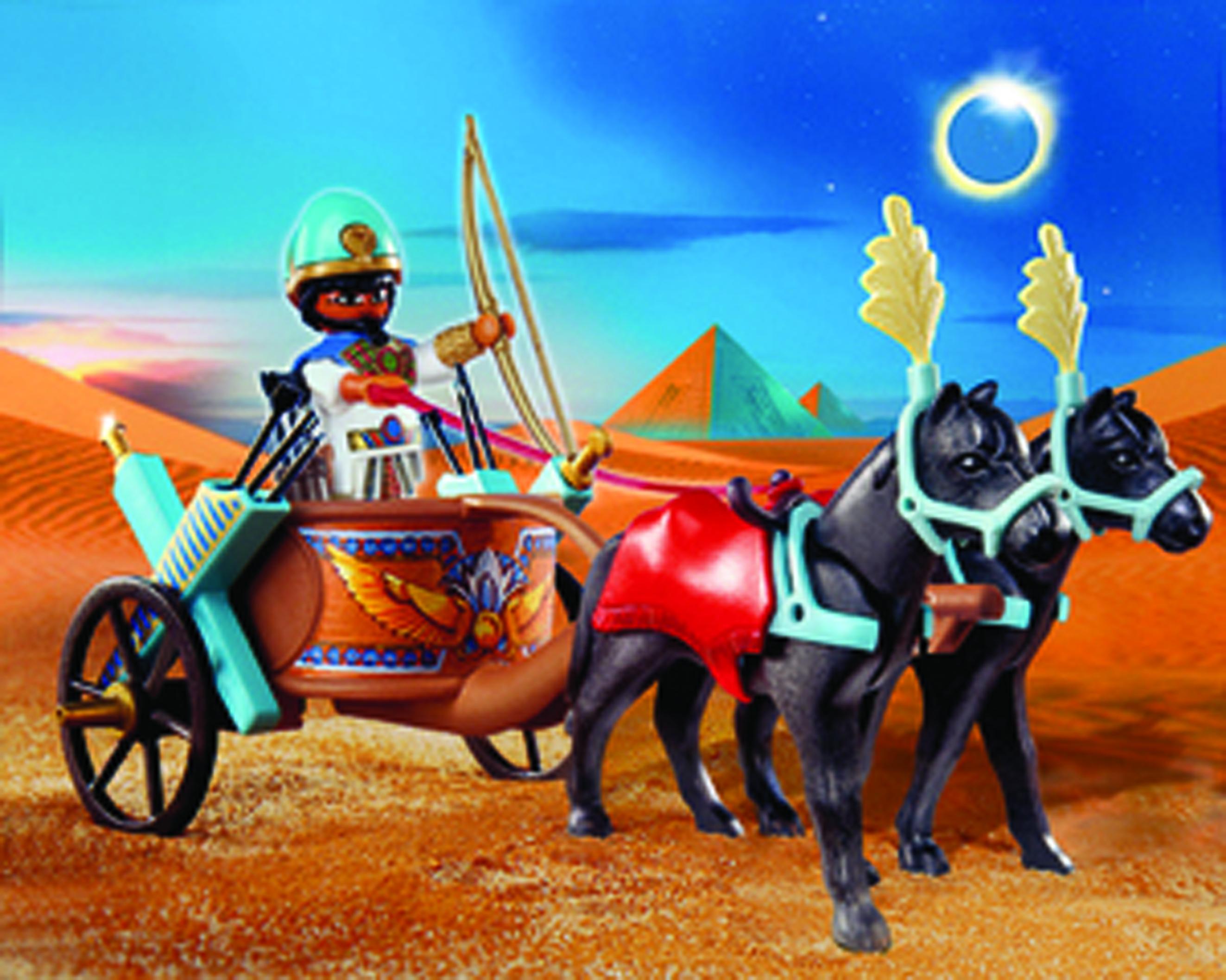 Nov111523 playmobil egypt egyptian chariot previews world - Playmobil egyptien ...