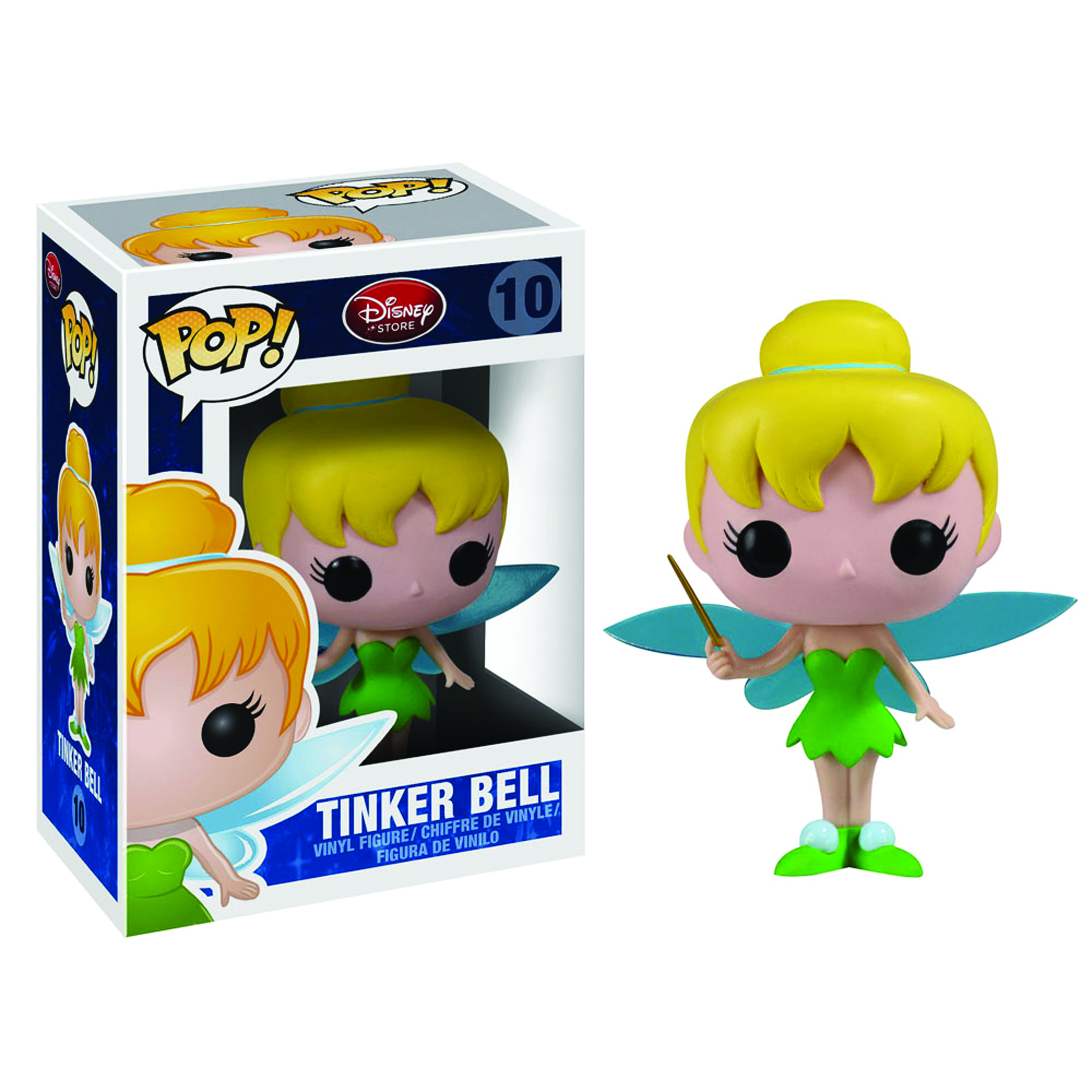 POP DISNEY TINKER BELL VINYL FIG