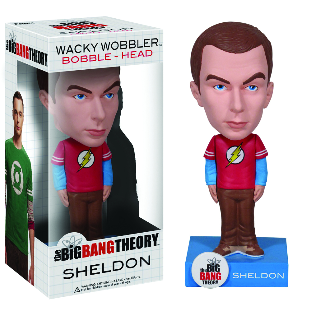 BIG BANG THEORY SHELDON WACKY WOBBLER