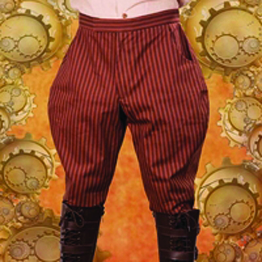 STEAMPUNK ENGINEER PANTS MED