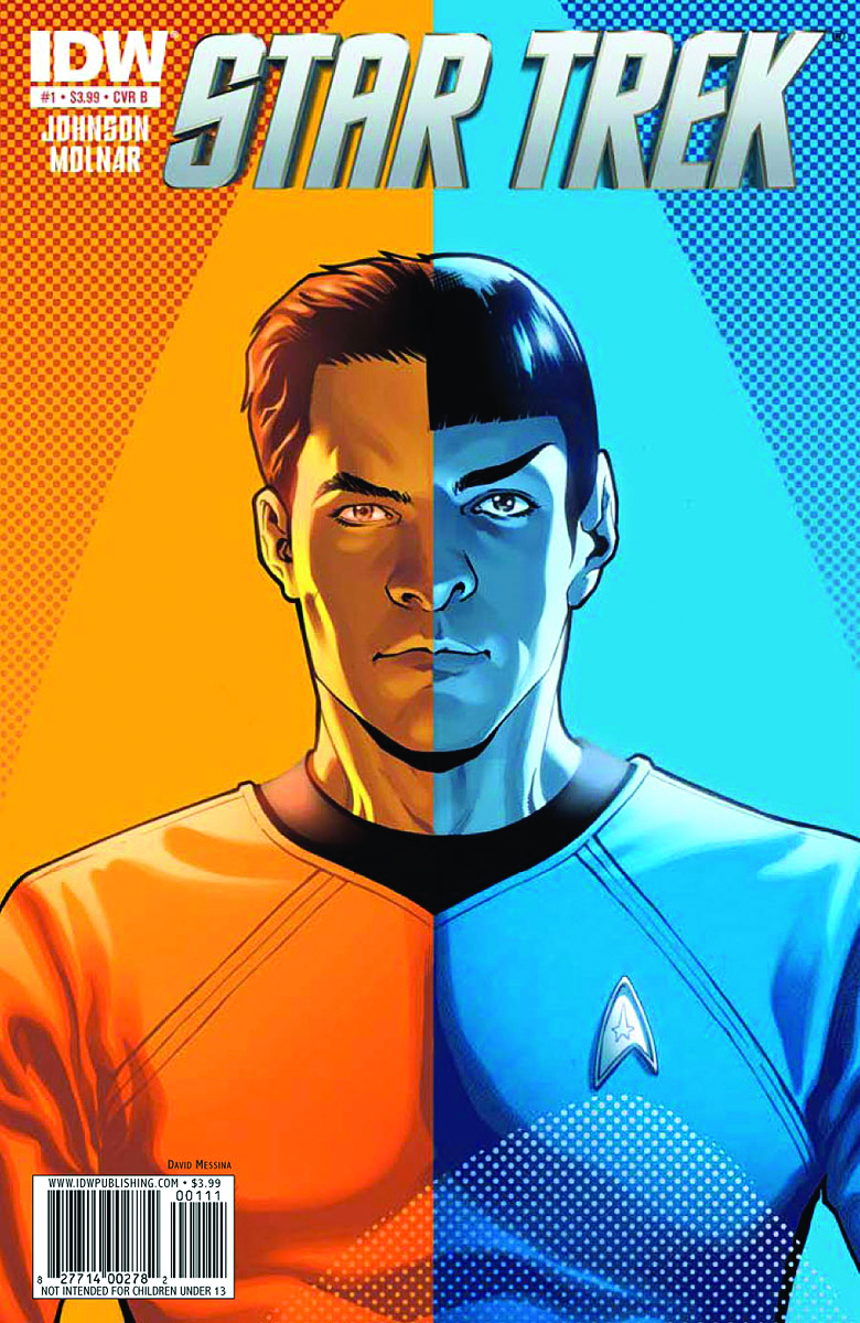 STAR TREK ONGOING #1 2ND PTG