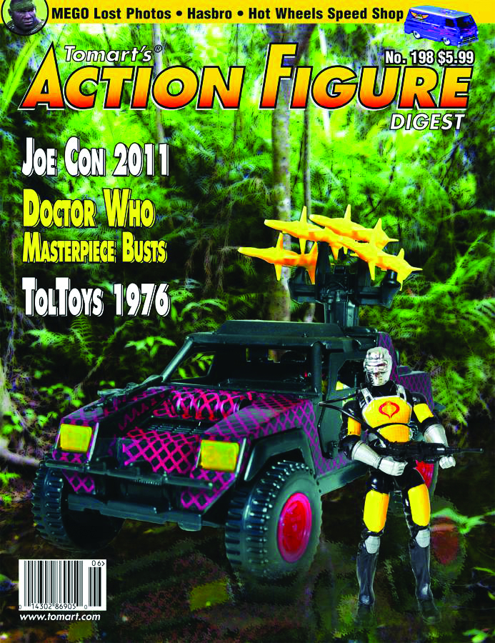 TOMARTS ACTION FIGURE DIGEST #202
