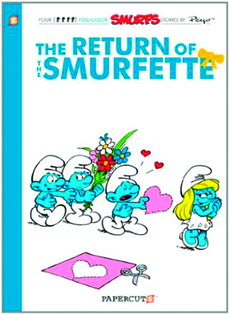 SMURFS GN VOL 10 RETURN OF SMURFETTE