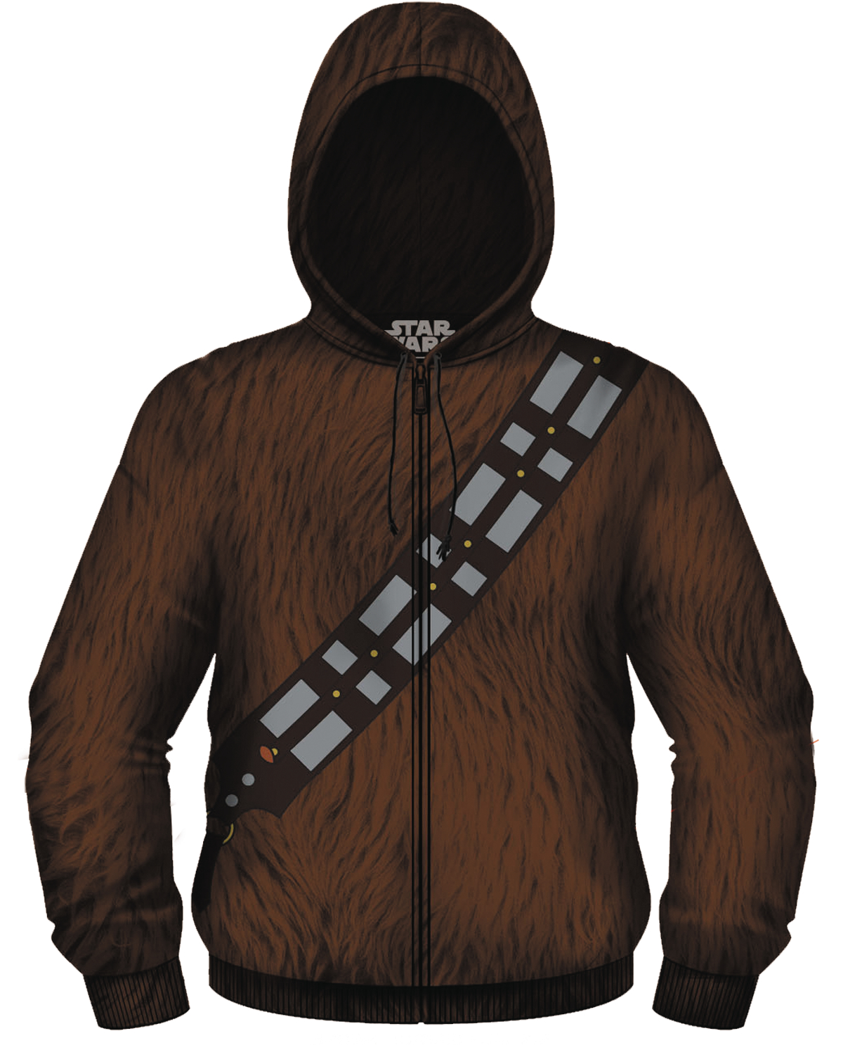 SW I AM CHEWIE ZIP-UP HOODIE MED