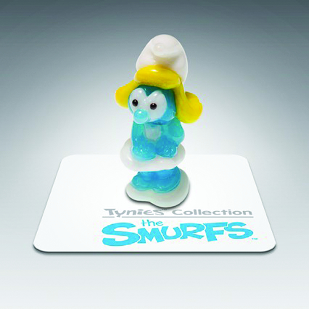 SMURFS TYNIES SMURFETTE GLASS FIG