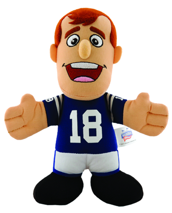 COLTS MANNING 7 INCH PLUSH