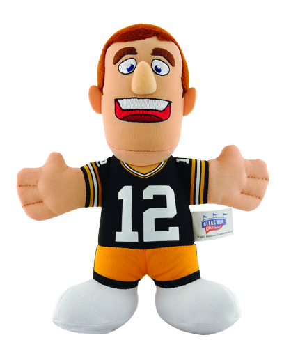 PACKERS RODGERS 7 INCH PLUSH