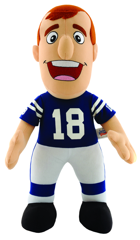 COLTS MANNING 14 INCH PLUSH