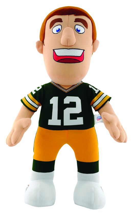 PACKERS RODGERS 14 INCH PLUSH