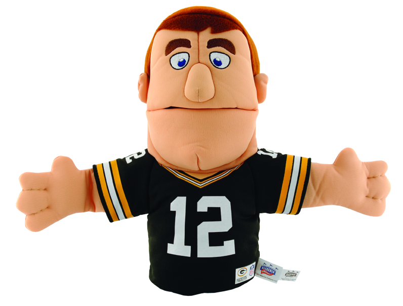 PACKERS RODGERS HAND PUPPET