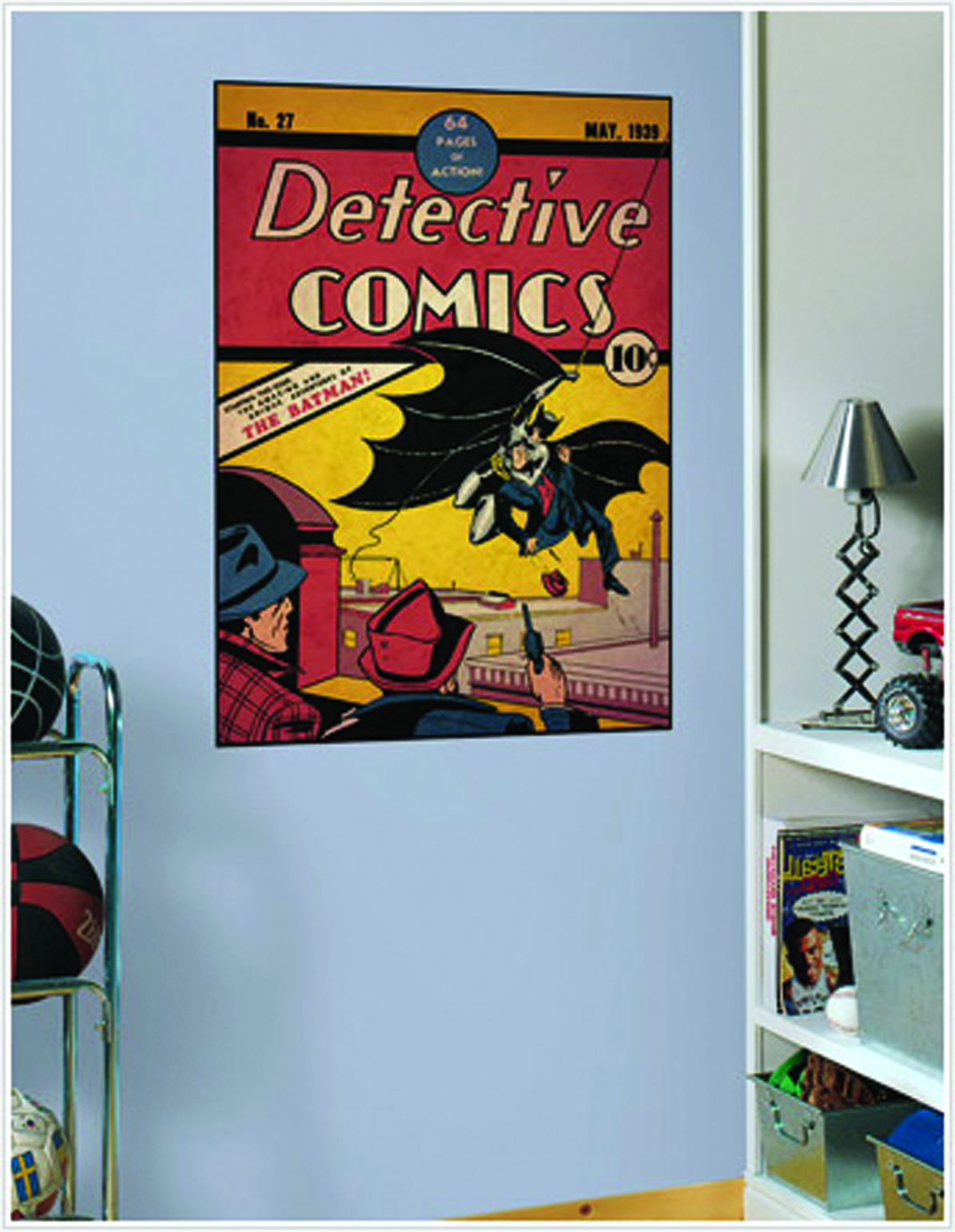 DETECTIVE COMICS BATMAN COMIC COVER GIANT WALL DECAL