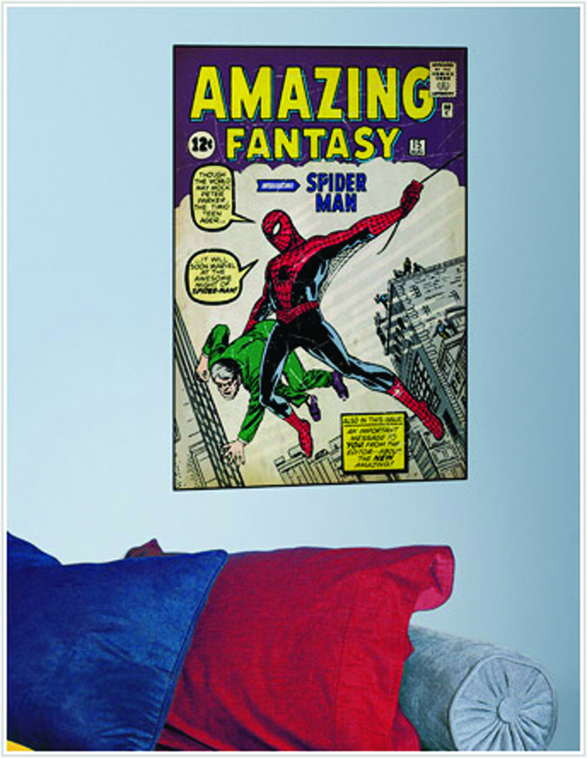 SPIDER-MAN COMIC COVER GIANT WALL DECAL