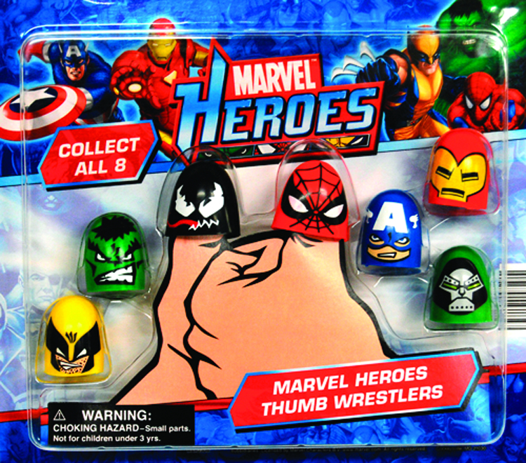 MARVEL HEROES THUMB WRESTLERS 250PC GACHA CS