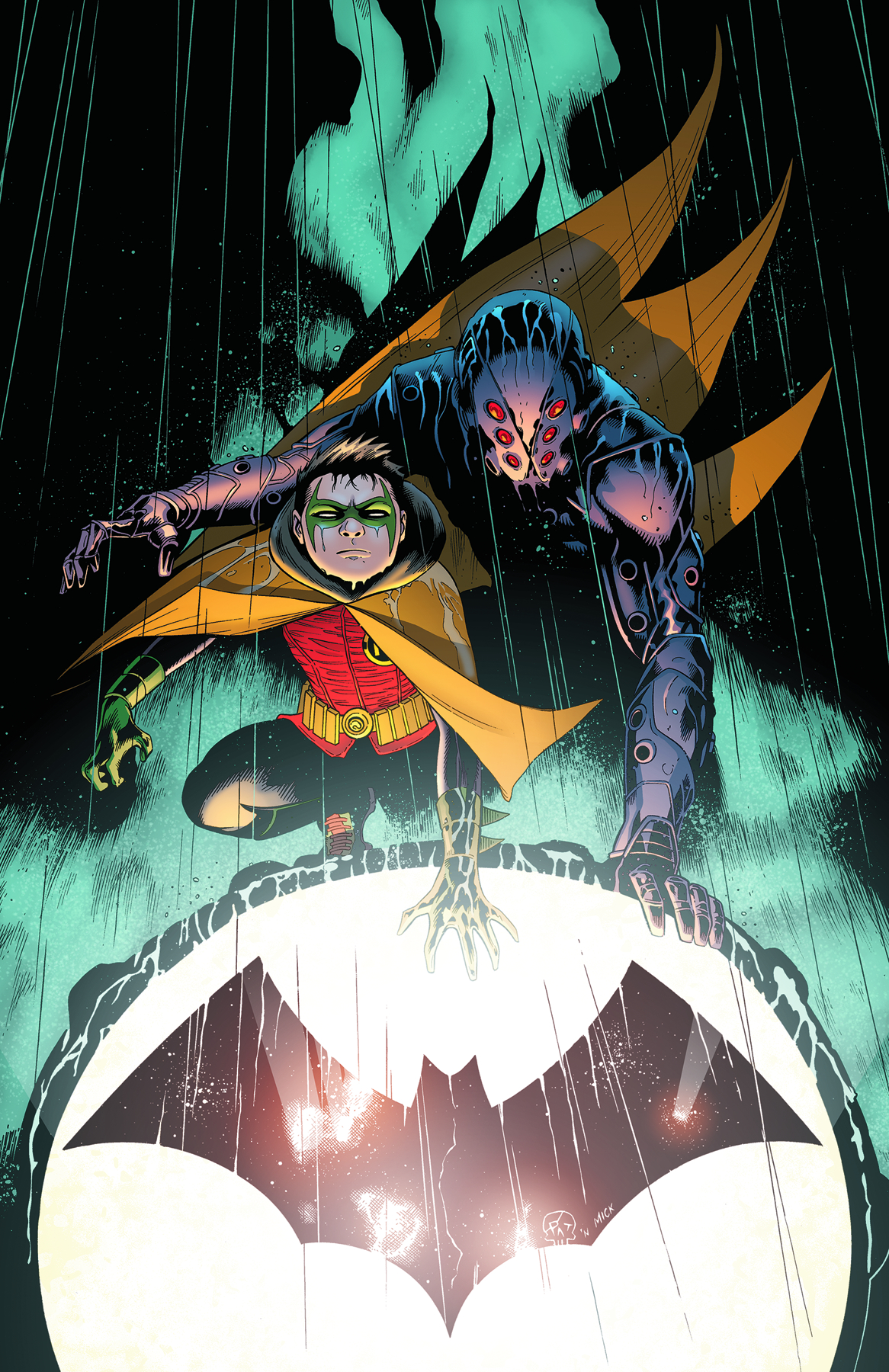 BATMAN AND ROBIN #5