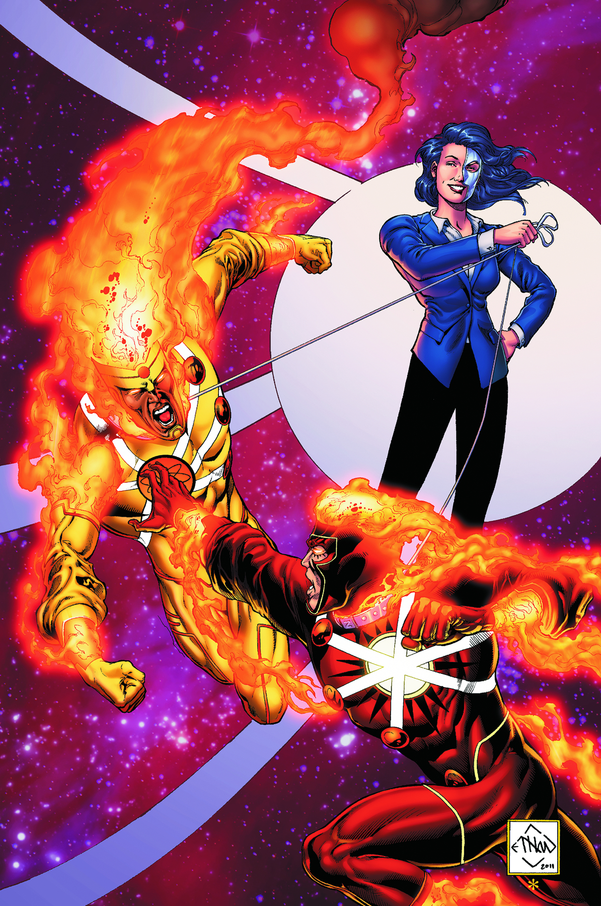 FURY OF FIRESTORM THE NUCLEAR MEN #5