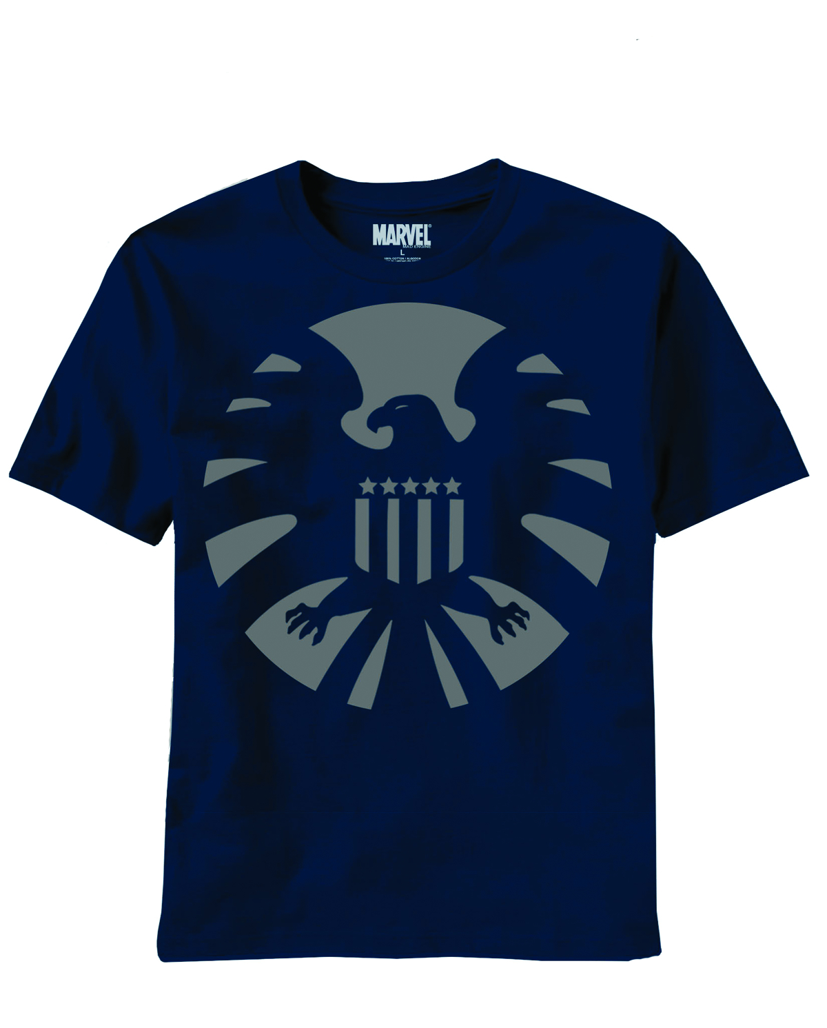 SHIELD NIGHT SHIELD NAVY T/S LG