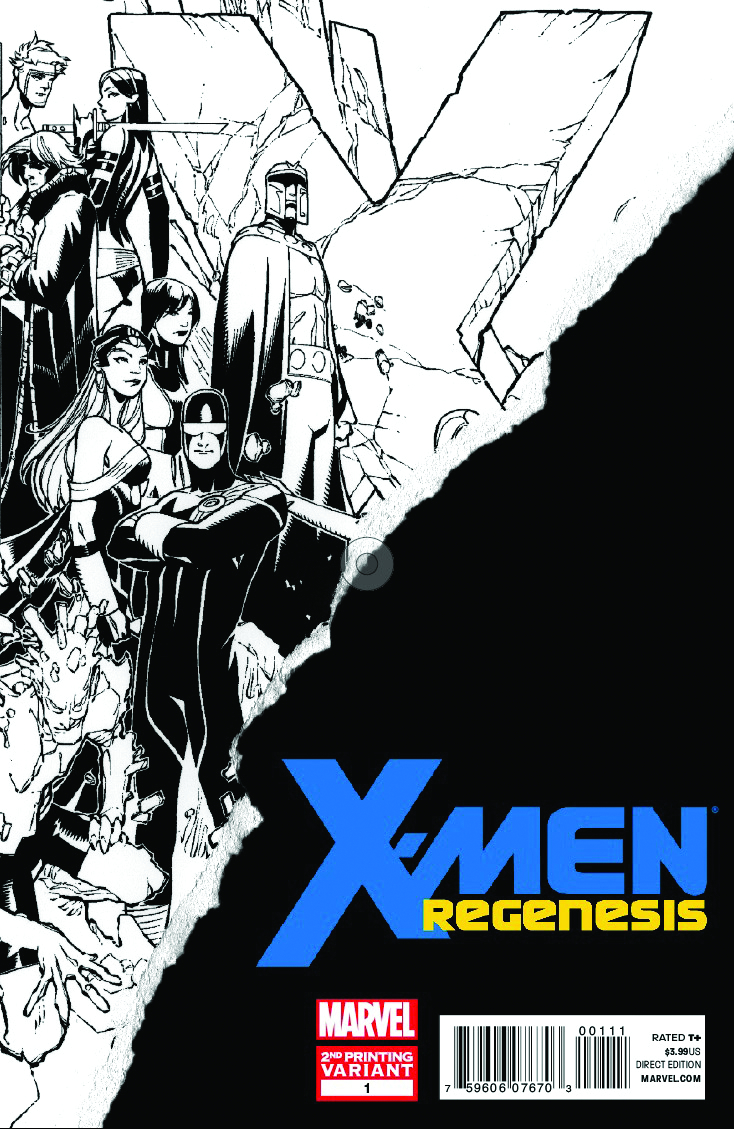 X-MEN REGENESIS #1 2ND PTG CYCLOPS VAR
