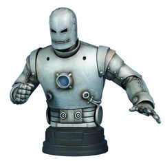 GENTLE GIANT IRON MAN CLASSIC SILVER MINI-BUST