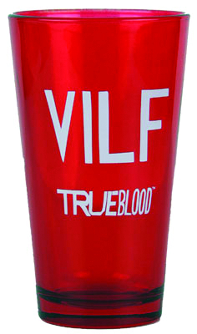 TRUE BLOOD VILF PINT GLASS