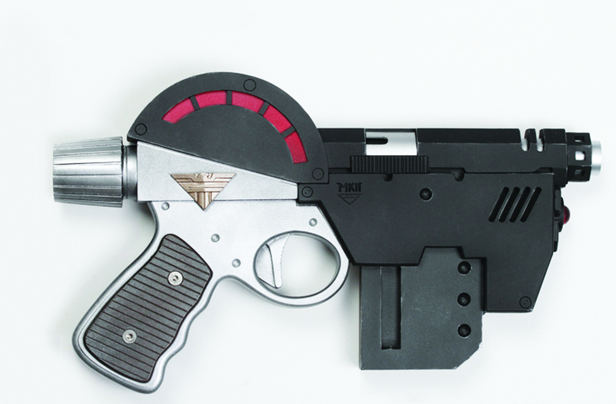 JUDGE DREDD LAWGIVER MK2 1:1 SCALE REPLICA GUN