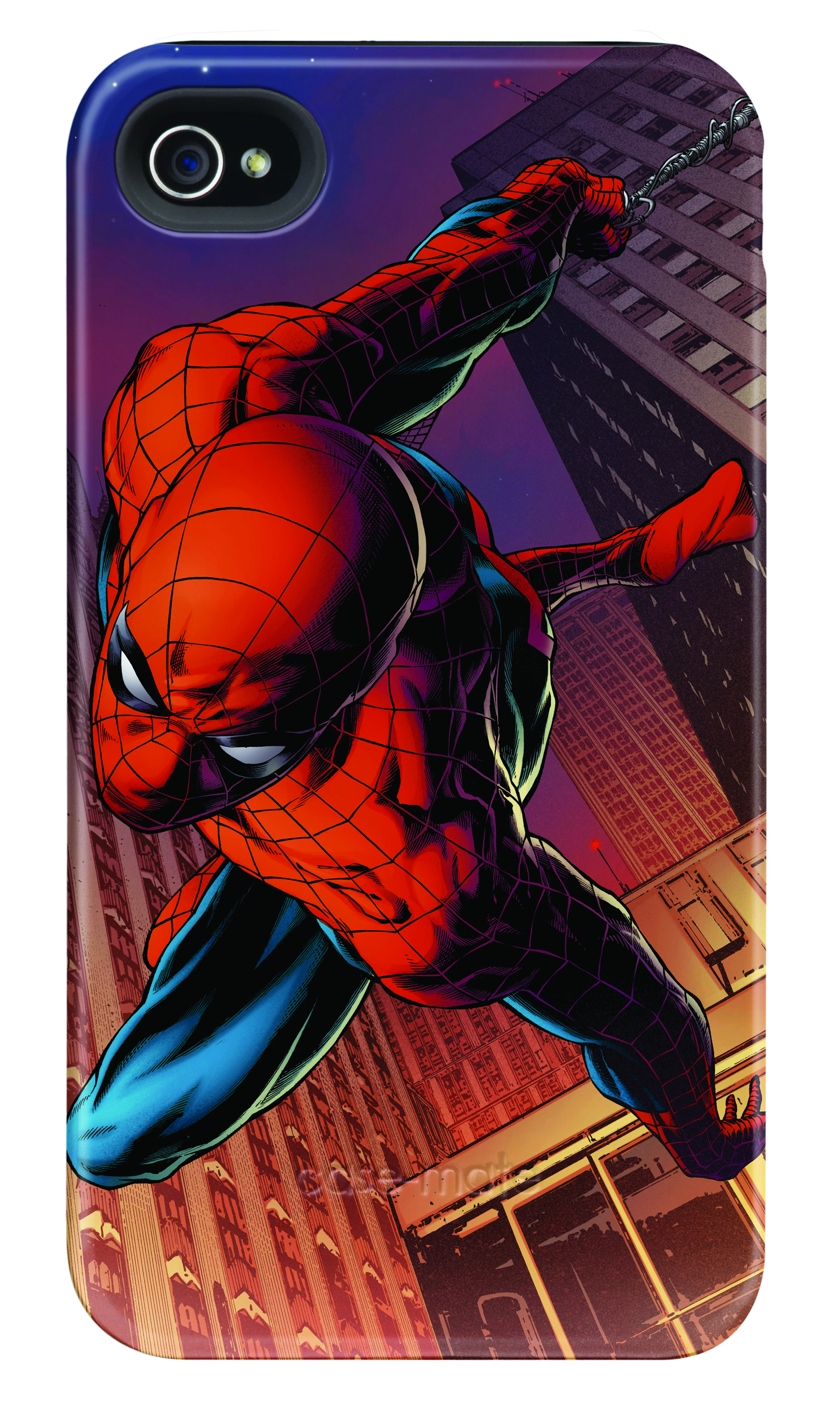 SPIDER-MAN DIVE IPHONE 4/4S BARELY THERE CASE