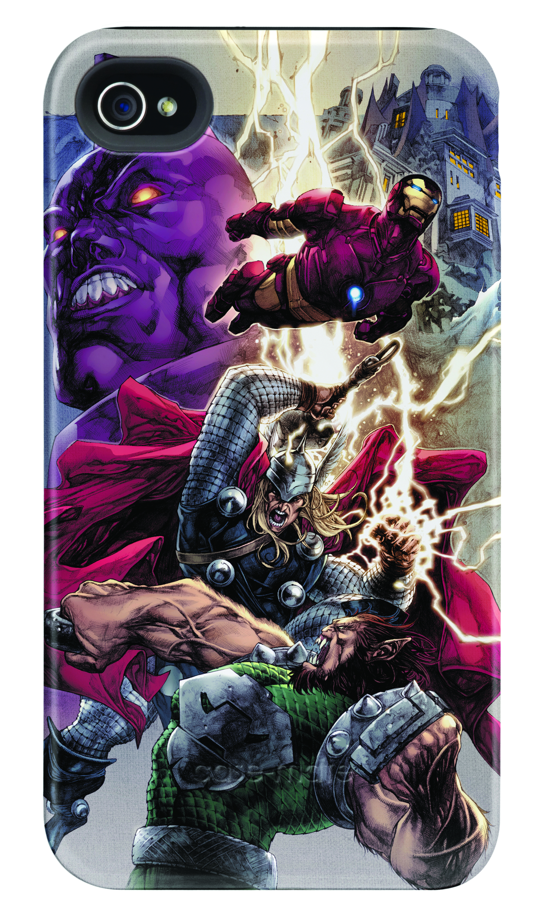 THOR THUNDER GOD IPHONE 4/4S BARELY THERE CASE
