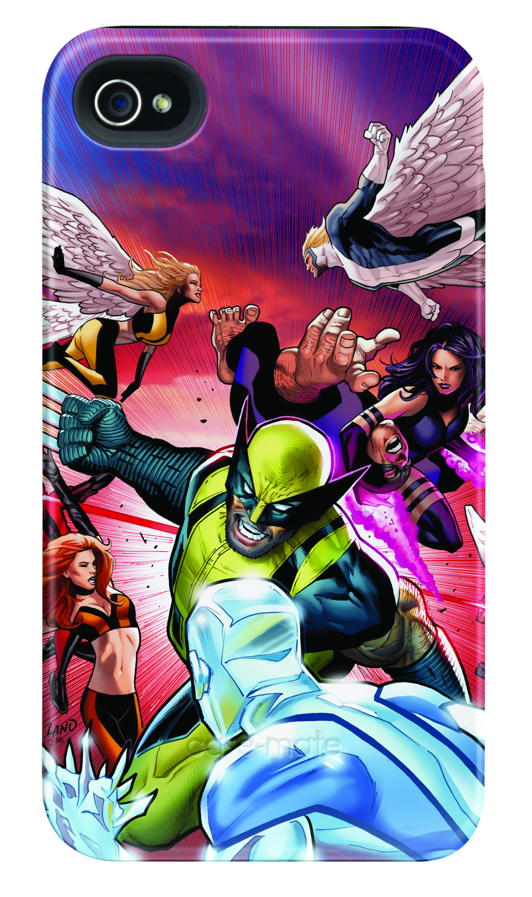 X-MEN BATTLE IPHONE 4/4S BARELY THERE CASE