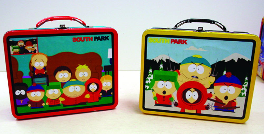 SOUTH PARK LARGE CARRY ALL LUNCHBOX 12 PC ASST