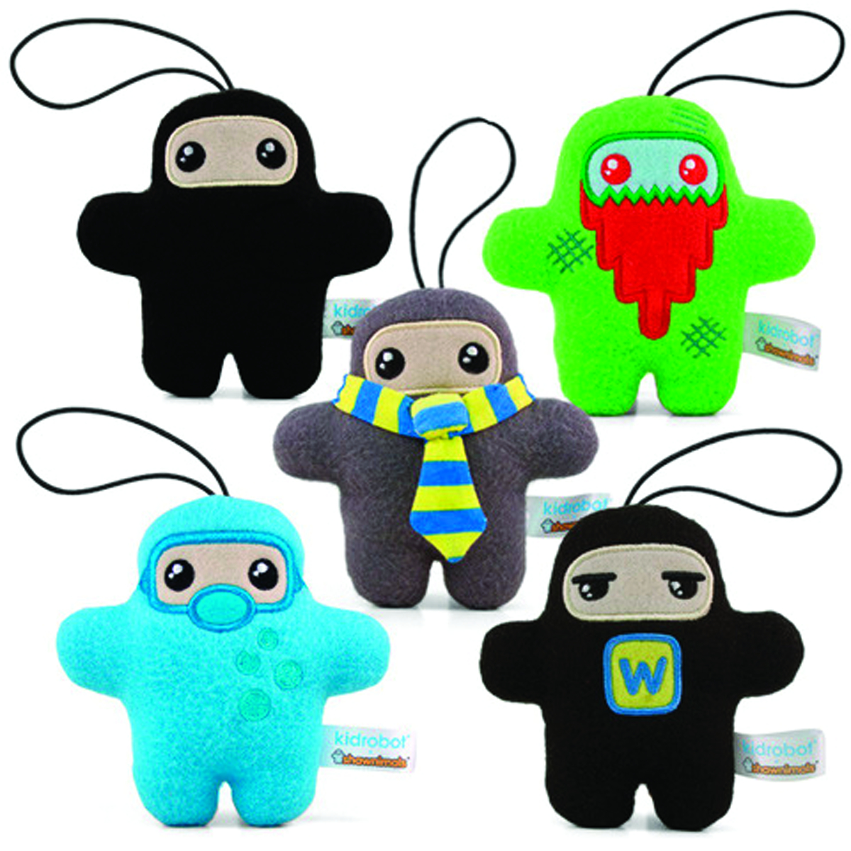 SHAWNIMALS POCKET ZOMBIE NINJA 4.5IN PLUSH