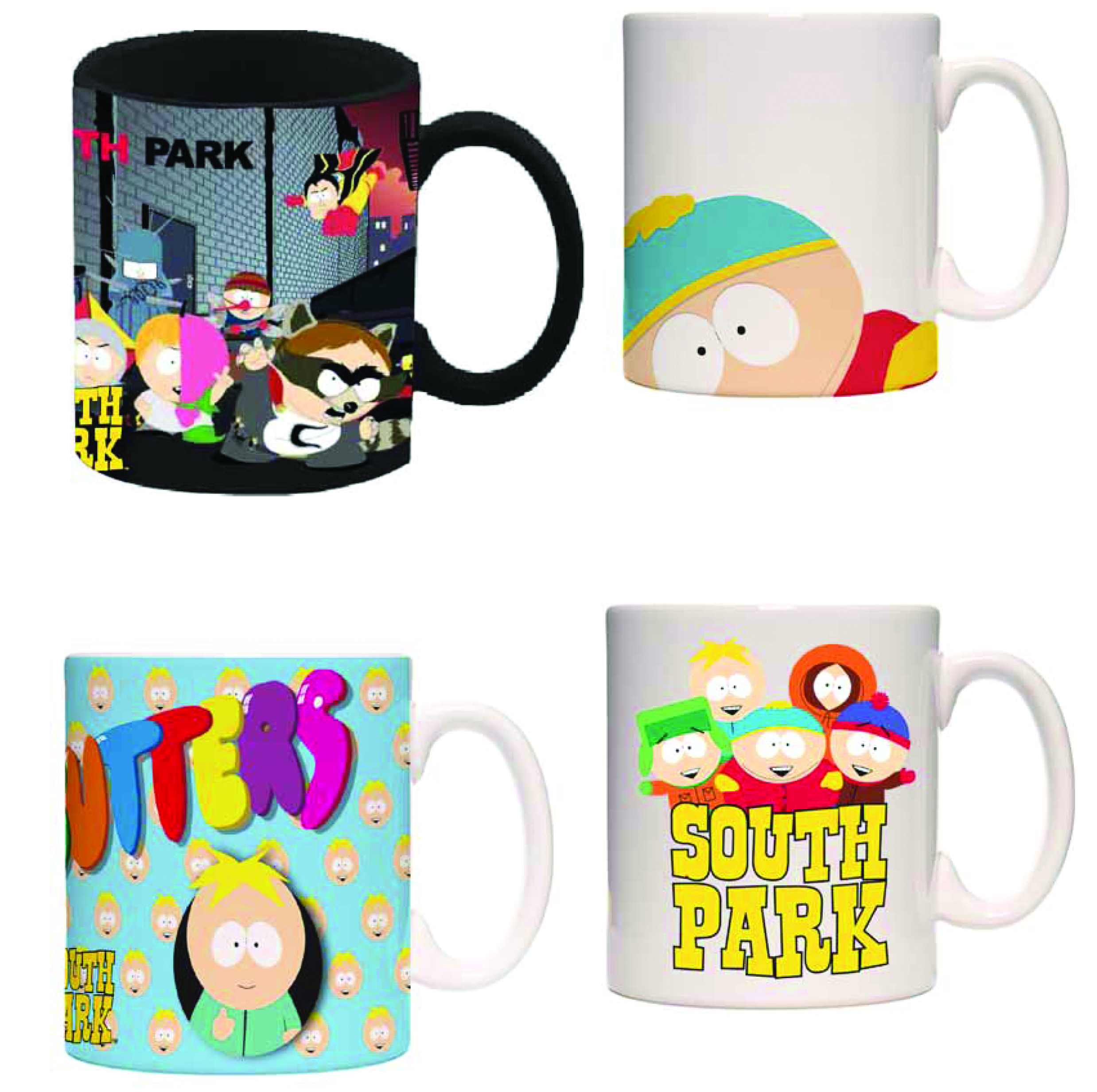SOUTH PARK GROUP COFFEE MUG