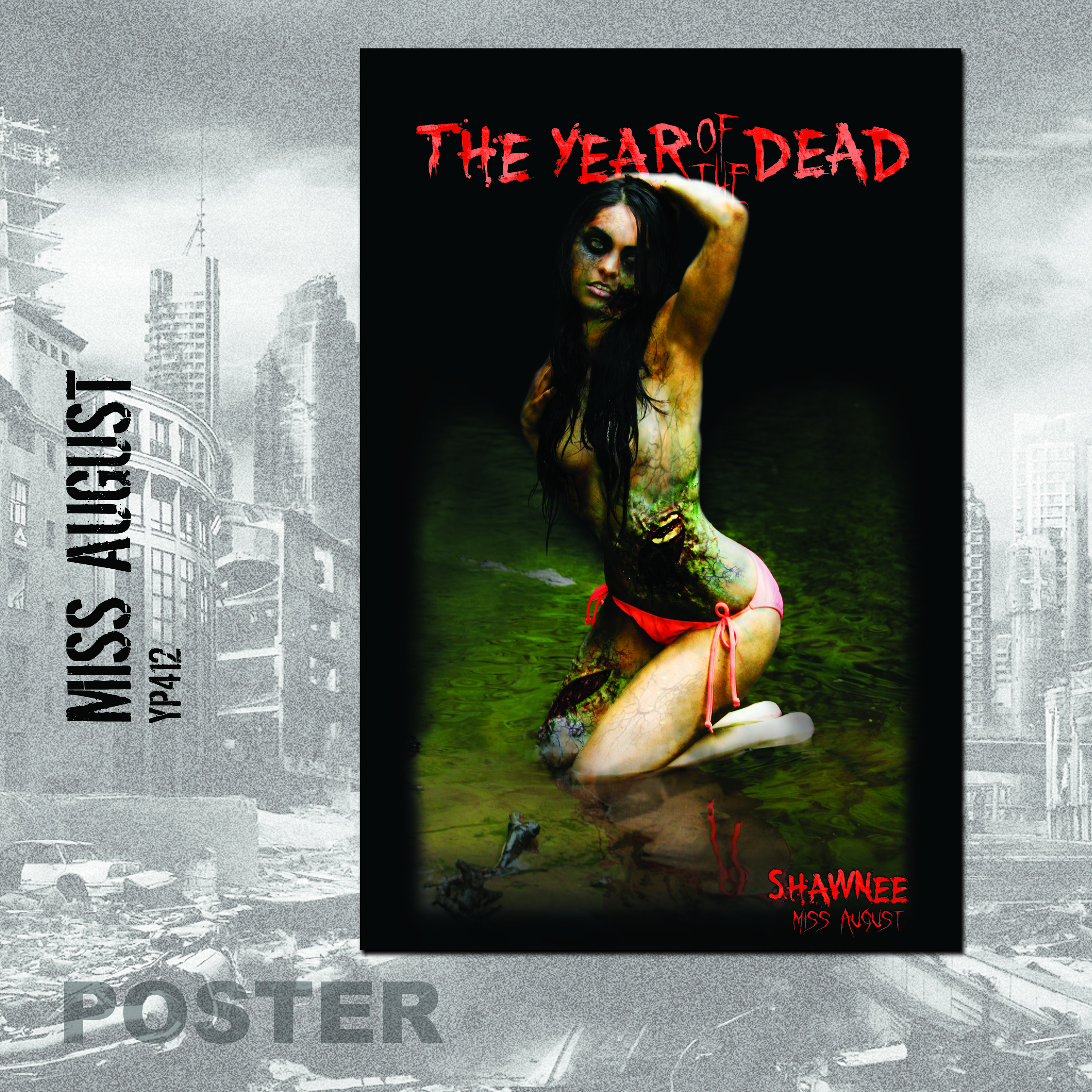 YEAR OF THE DEAD SHAWNEE POSTER