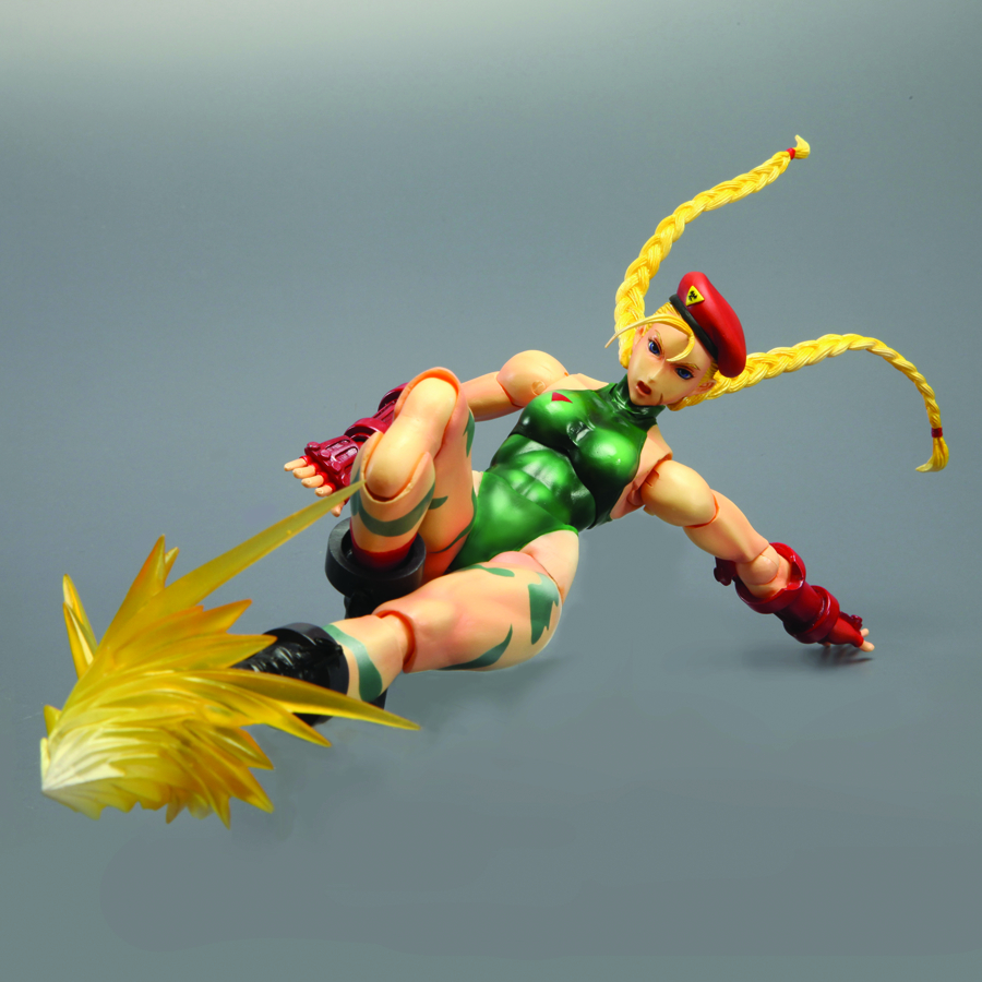 STREET FIGHTER IV PLAY ARTS KAI CAMMY AF