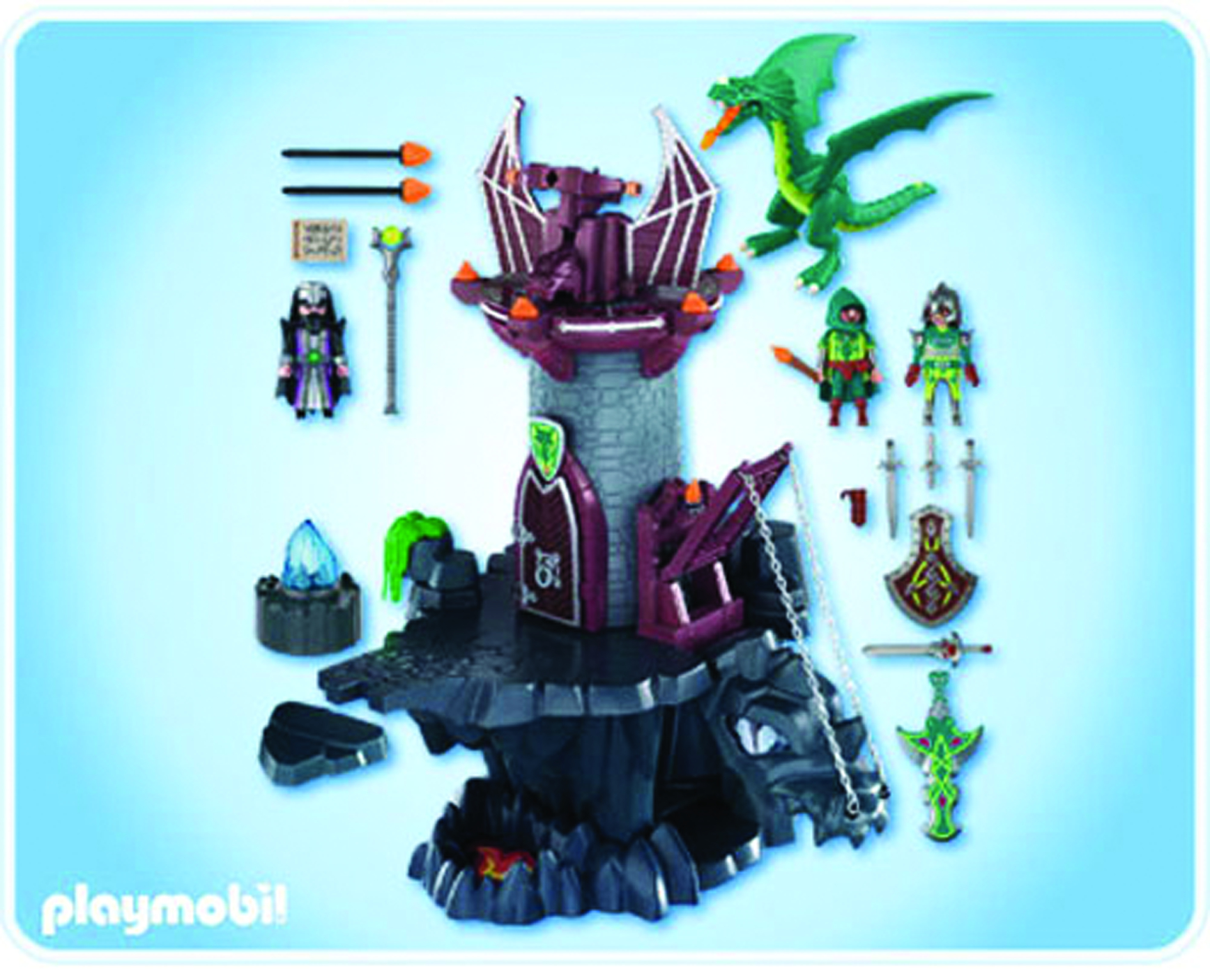 dec111716 playmobil dragons land dragons dungeon. Black Bedroom Furniture Sets. Home Design Ideas