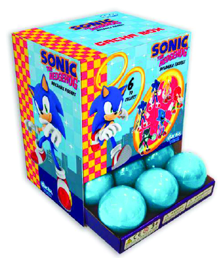 SONIC THE HEDGEHOG BUILDABLE FIG CAPSULE DS