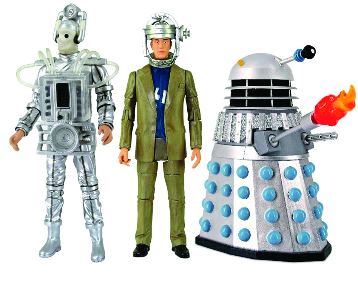 DOCTOR WHO ENEMIES OF THE 1ST DOCTOR AF SET