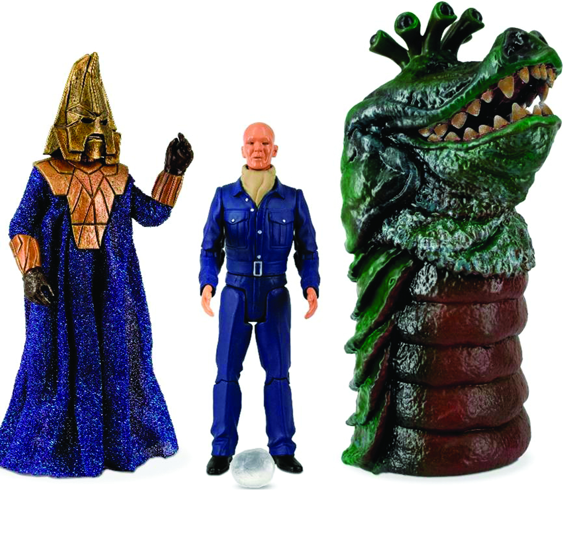 DOCTOR WHO ENEMIES OF THE 3RD DOCTOR AF SET