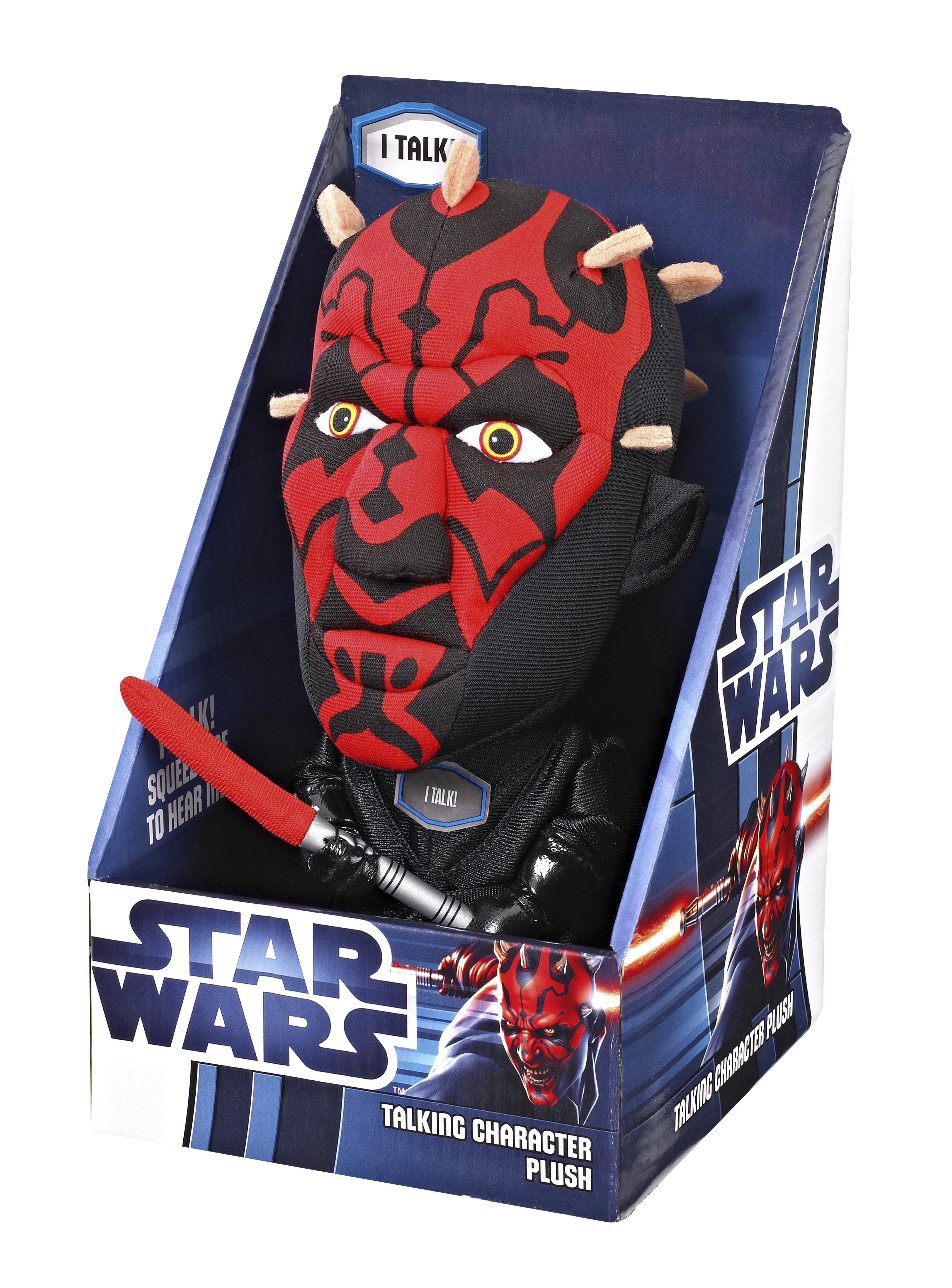 SW DARTH MAUL 9IN TALKING PLUSH