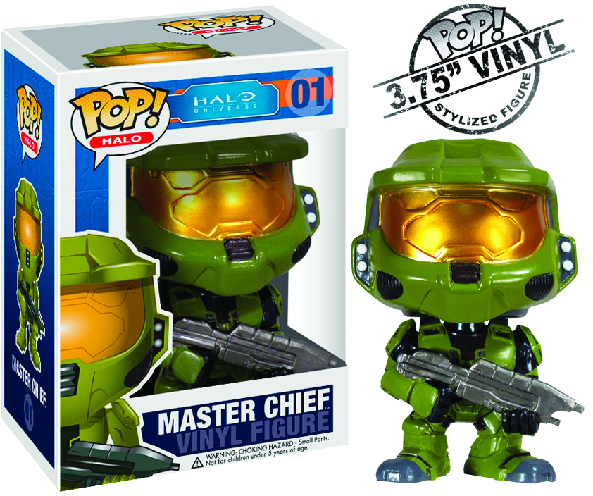 POP HALO MASTER CHIEF VINYL FIG