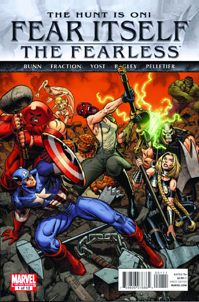FEAR ITSELF FEARLESS #1 (OF 12) 2ND PTG VAR B