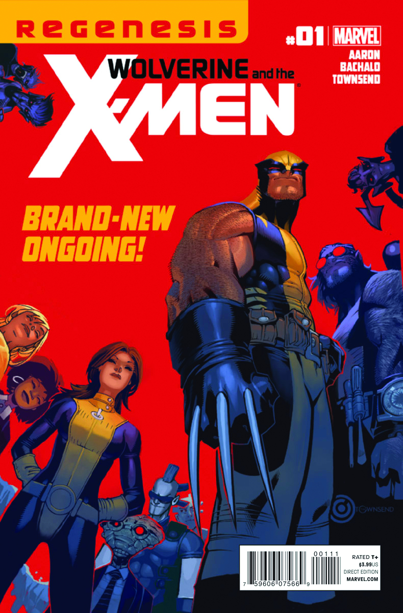 WOLVERINE AND X-MEN #1 2ND PTG BACHALO VAR XREGG (PP #996)