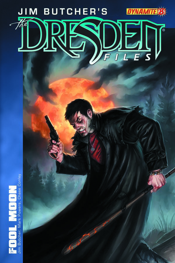 JIM BUTCHER DRESDEN FILES FOOL MOON #8