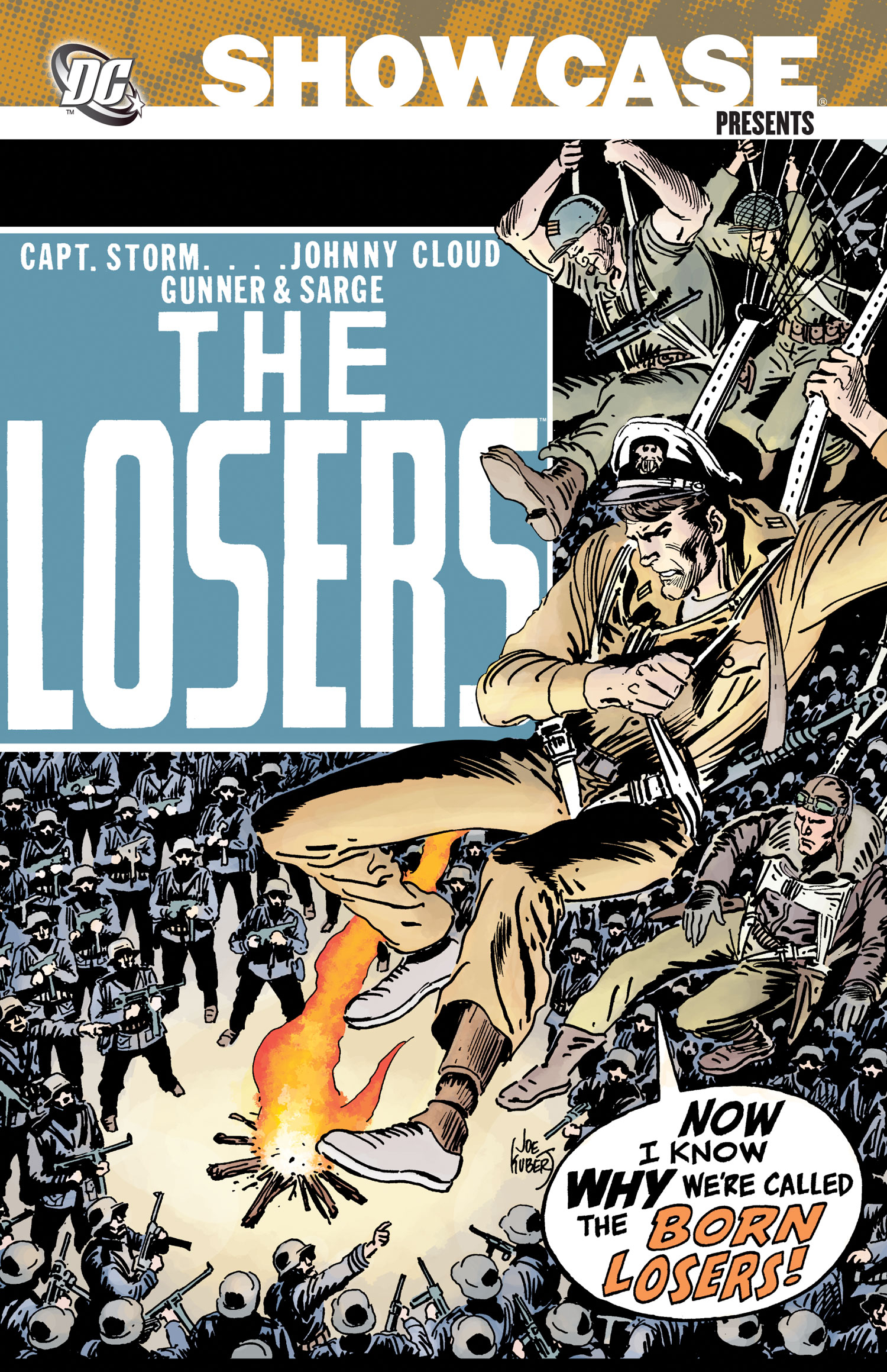 SHOWCASE PRESENTS THE LOSERS TP VOL 01