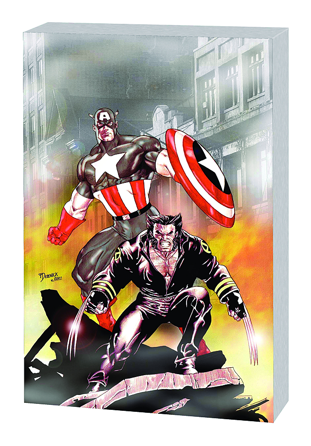 WOLVERINE AND CAPTAIN AMERICA TP