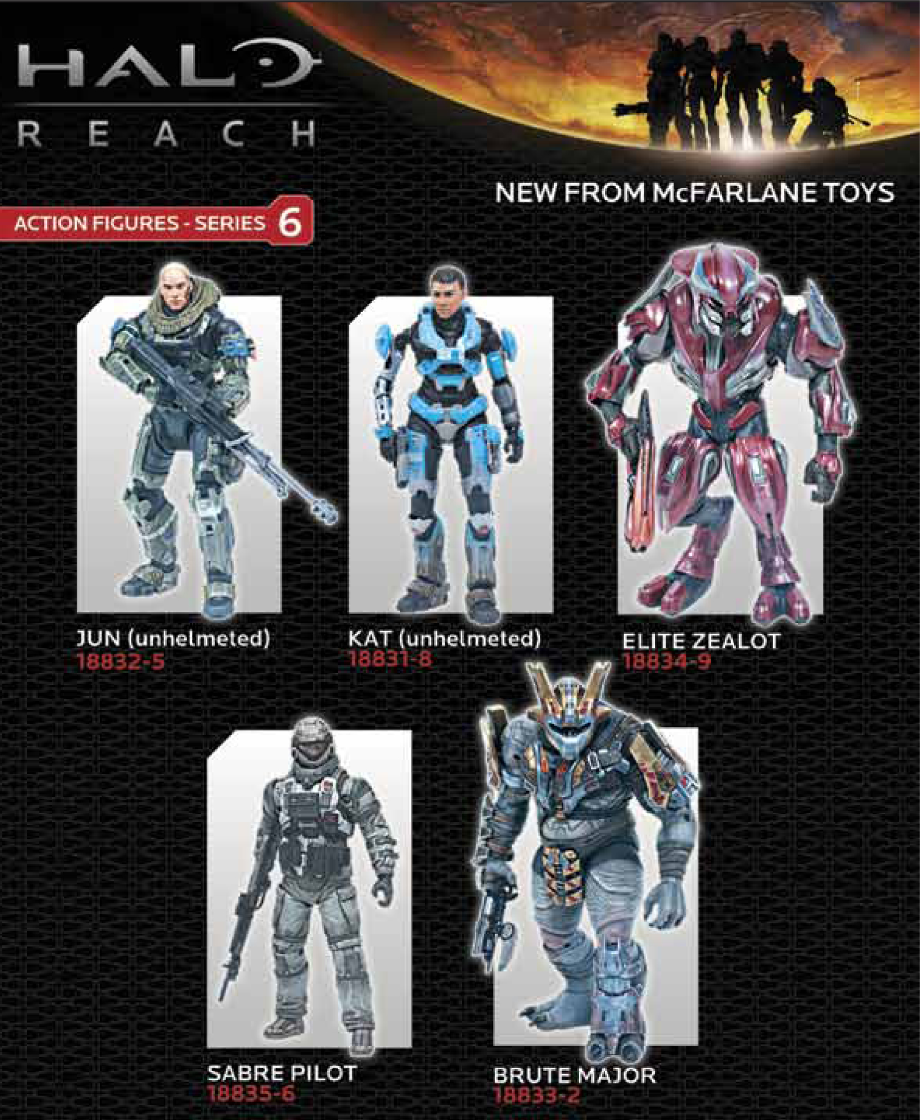 HALO REACH SERIES 6 KAT UNHELMETED AF CS
