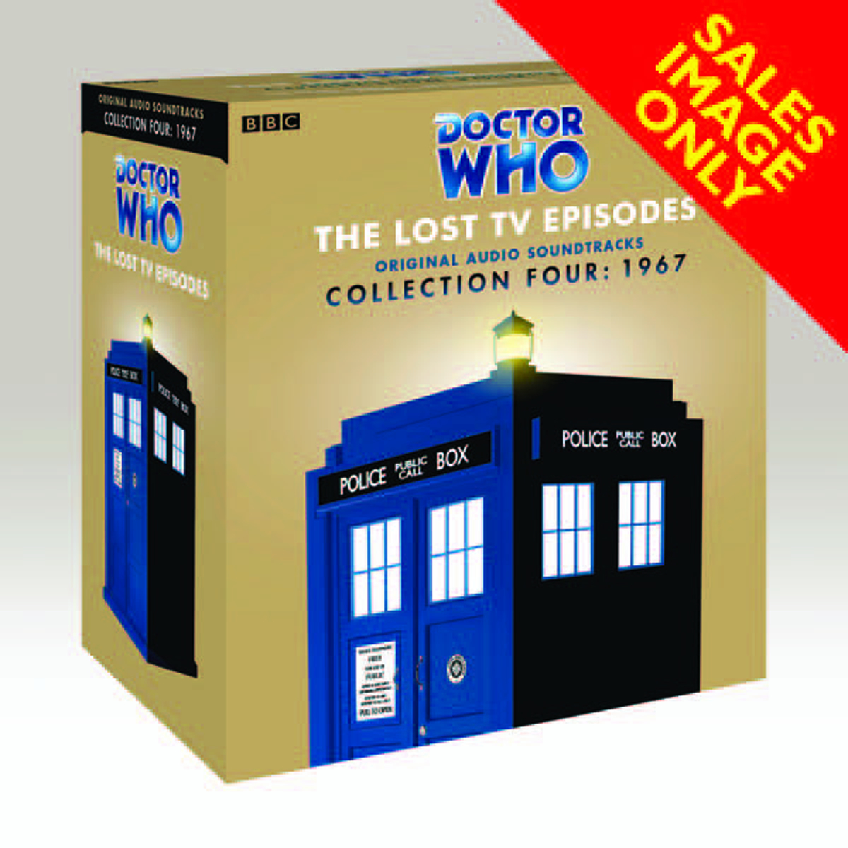 JAN121388 - DOCTOR WHO LOST TV EPISODES AUDIO CD COLL 04