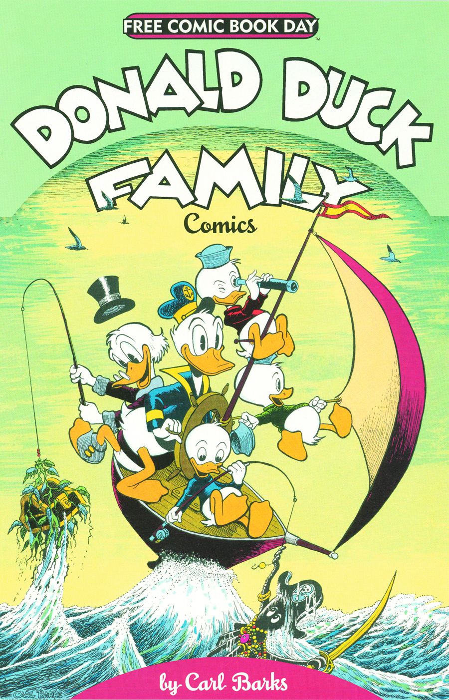 FCBD 2012 WALT DISNEYS DONALD DUCK FAMILY COMICS